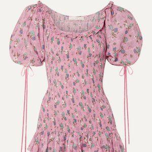 Loveshackfancy 🌸 Violet dress hollywood pink M